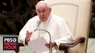 How Pope Francis is 'upending' Catholic Church culture over same-sex unions