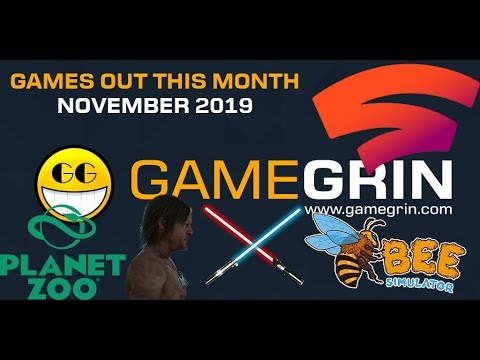 Games Out This Month - November