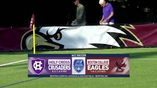 Men's Soccer: Holy Cross Highlights (Sept. 11, 2018)