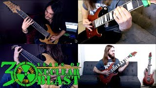 RINGS OF SATURN - Inadequate (OFFICIAL GUITAR PLAY THROUGH)