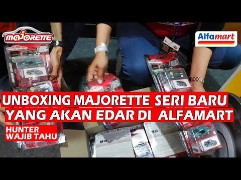 Unboxing Seri Baru Majorette Yang Akan Beredar di Alfamart