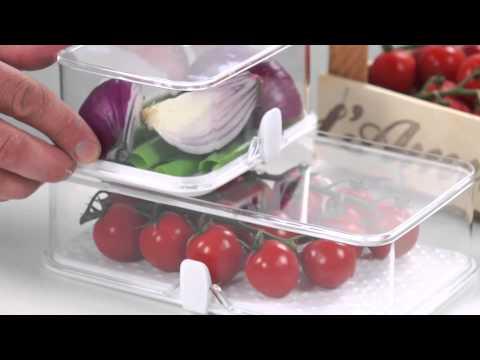 Video Tescoma Purity Zdravá dóza do ledničky 14 x 11 cm 1