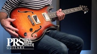 Paul Reed Smith SE Hollowbody II - CA Video