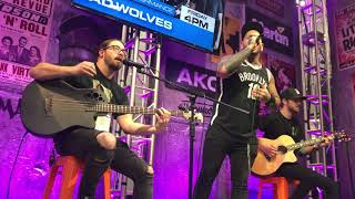 Bad Wolves Zombie Acoustic LIVE @ NAMM 2019 In Anaheim California 12519