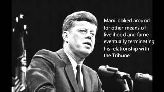 JFK Marx anecdote, speech to American Newspaper Publishers
