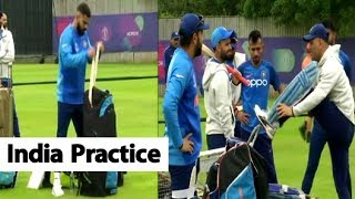 WATCH: India's First Practice Session After Beating Pakistan | Southampton | ICC CWC 2019