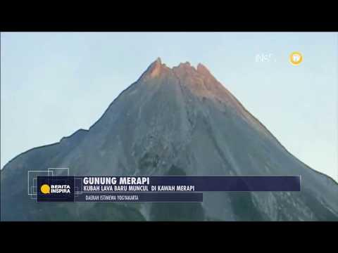 BERITA INSPIRA - Kubah Lava Baru Muncul Di Kawah Merapi, Fase Baru Erupsi Agmatik