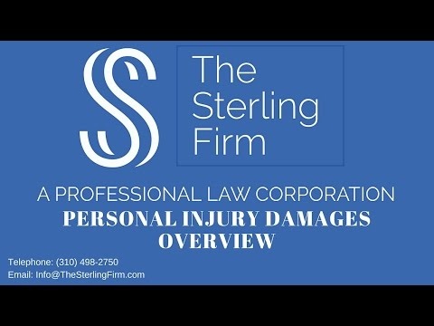 PERSONAL INJURY DAMAGES OVERVIEW