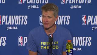 Steve Kerr Postgame Interview | Pelicans vs Warriors - Game 2 | May 1, 2018 | 2018 NBA Playoffs - Video Youtube