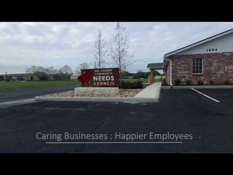 Caring Businesses and Happier Employees video poster.