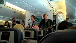 James Blunt - 1973 / Heart Of Gold {Live in a plane on 29.6.2010}