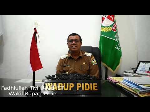 Peryataan Sikap Wakil Bupati Pidie Fadhullah TM Daud, ST