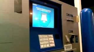 depositing money in atm.