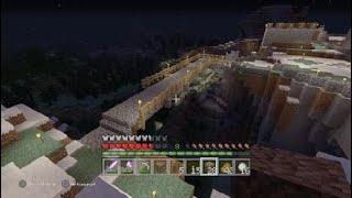 Survie solo # 6 le pont [ minecraft ps4 fr ]