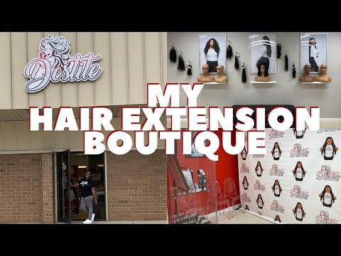 , title : 'My Business Tour | Destite Hair Collection Salon/Hair Extension Boutique