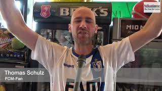 FCM-Fans feiern den Aufstieg