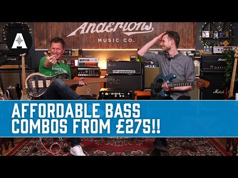 Affordable Bass Combos from £275! - Fender, Ashdown & Orange