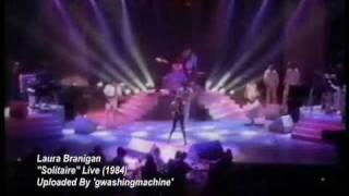 """Laura Branigan """"Solitaire"""" Live (1984) - RARE!"""