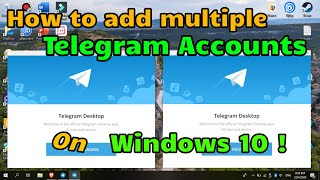 How To Add Multiple Telegram Accounts on a Windows PC [ Quick & Easy Guide ]