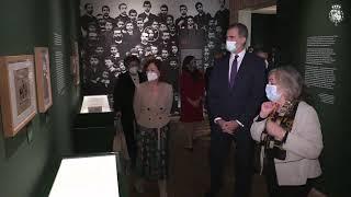 """S.M. el Rey inaugura la exposición """"Azaña: Intelectual y Estadista"""""""