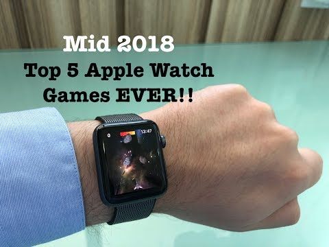 [2018] Top 5 Apple Watch Games EVER!