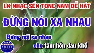 lien-khuc-karaoke-nhac-sen-tone-nam-de-hat-dung-noi-xa-nhau-duong-tim-bang-lang