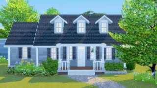 Building a 100 Baby Challenge Starter Home in The Sims 4