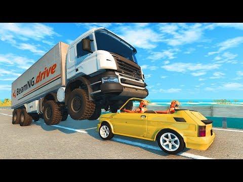 Realistic Crashes #4 Beamng Drive CrashTherapy