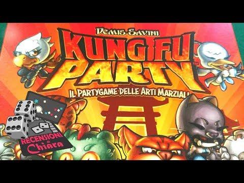 Kung Fu Party (tutorial, commento e partita) - Recensioni di Chiara (giochi da tavolo)