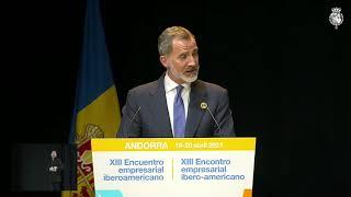 Palabras de S.M. el Rey en la clausura del XIII Encuentro Empresarial Iberoamericano