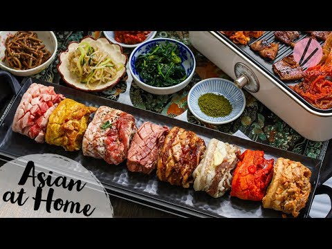 The BEST Korean BBQ Samgyeopsal 8 Flavors Pork Belly