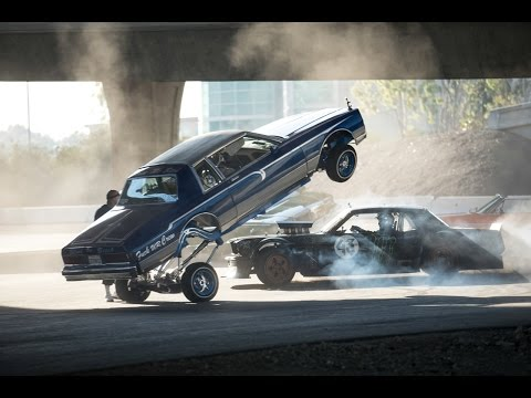 Ken Block Drifts Los Angeles Streets