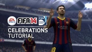 FIFA 14  - All New Celebrations Tutorial