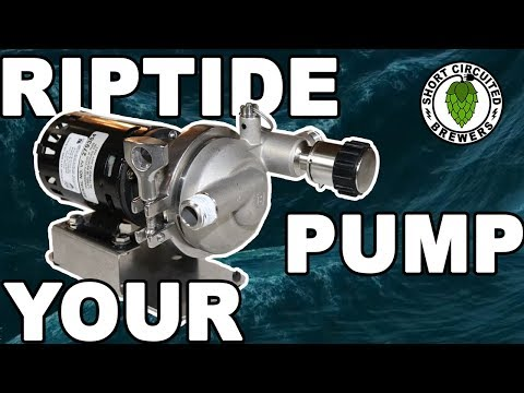 Upgrade Your March or Chugger Brewing Pump With  A  Blichmann Riptide Brewing Pump Upgrade Kit