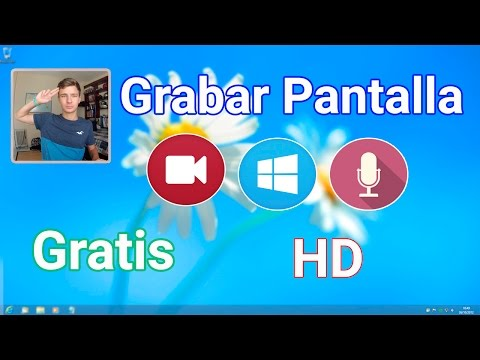 Grabar Pantalla de PC en HD | El mejor programa para Windows 2016-17