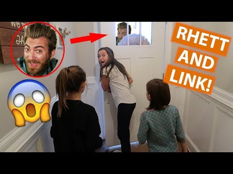 SURPRISE VISIT FROM RHETT AND LINK?!?