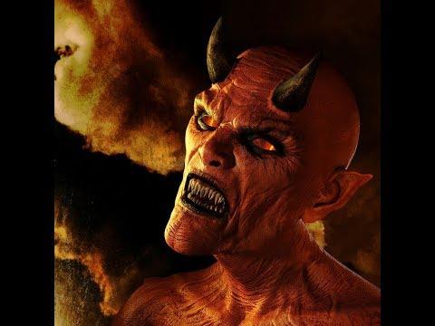Темный #Демон произносит молитву Царю Преисподней #Люциферу с просьбой о Заключении договора