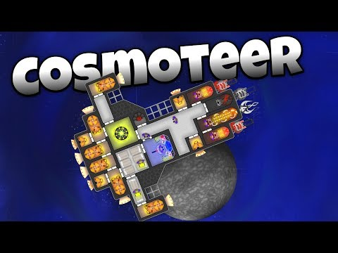 Cosmoteer – Epic Space Ship Building and Space Pirate Hunting! – Cosmoteer Gameplay