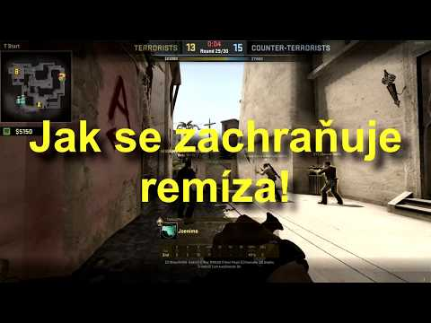 Silver potato #02 | Záchana remízy, lol knife kill xD | CZ