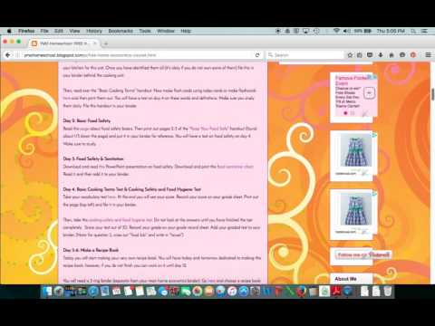 Free Home Economics Course for Homeschoolers - YouTube