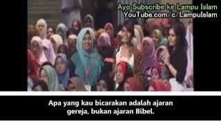 Mahasiswi Kristen Menantang Debat Dr Zakir  KENAPA UMAT ISLAM LEBIH KRISTEN DARI UMAT KRISTEN