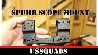 Spuhr ISMS 1 Piece Scope Mount MODEL SP-4602 34MM