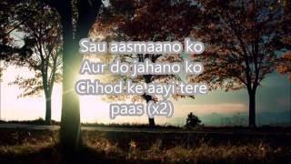 Sau Aasmaan - Baar Baar Dekho with lyrics