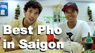Best Pho in Saigon... with Kyle Le!