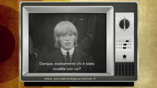 DAVID BOWIE - THE SOCIETY FOR THE PREVENTION OF CRUELTY TO LONG HAIRED MEN [SUB ITA]