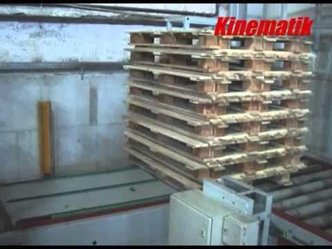 90 Degrees Pallet Transfer Conveyor - Pallet Conveyor System