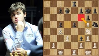 This is Hollywood | Carlsen vs Svidler | Candidates Tournament 2013. | Round 14