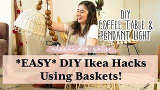 *SUPER EASY* DIY Ikea Hacks Using Baskets!