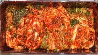How to Make Kimchi - It's All Done Only with This Recipe: Korean Traditional Kimchi Recipe