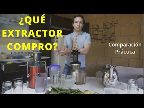 ¿Qué extractor de jugos comprar?